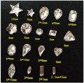 50 unids 3D Nail Art Decoraciones Crystal Rhinestone Extremidades Del Clavo Del Brillo de La Joyería Accesorio Herramienta de BRICOLAJE Manicura UV Gel Esmalte de Uñas decoración
