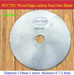 10 ''80 tanden Koolstofstaal zaagblad voor dure HOUT GRATIS Verzending NWC108HT16 | 250mm SUPER DUNNE 1.6mm houten snijders