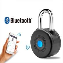 Yeni Bluetooth Akıllı Kilit Anti-Theft Alarm APP Kontrolü ile Bisiklet Motorycle için Kapı Kilidi