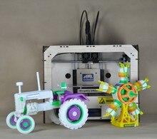 2 цвета экструдер 3d использование принтера ABS PLA