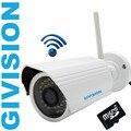 Cctv sem fio da câmera de segurança ip hd 720 p/1080 p 2mp wi-fi micro sd cartão p2p Outdoor LED IR cut WIFI IP câmera de vigilância de rede