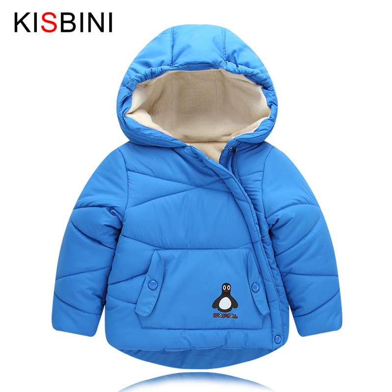 KISBINI Children Clothing Girl Coat Hooded Jacket Thick Cotton Coat Baby Boys Clothes Down Jacket For Girl kids Winter Jacket winter girl children clothing thick jacket coats for toddler teenage kids girl clothes outfits windbreaker jacket outerwear coat