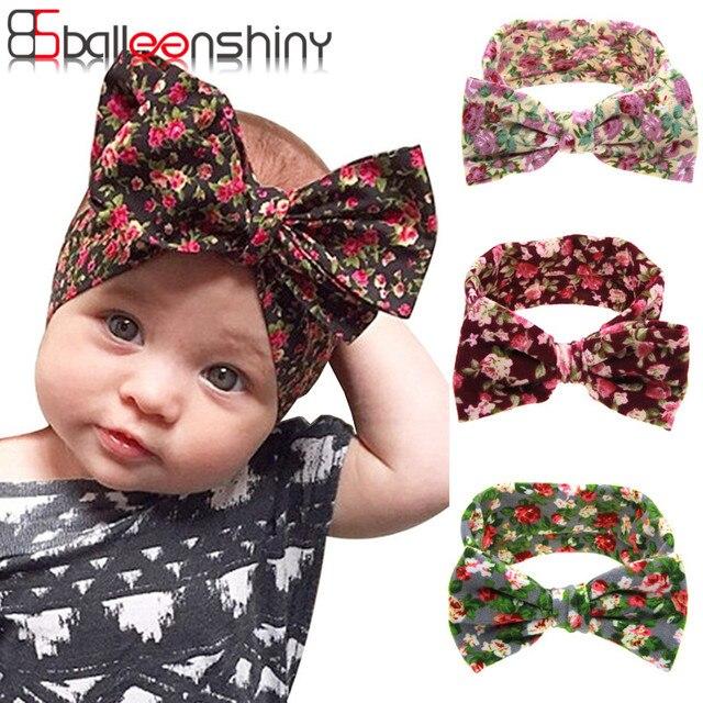 Baby Girl Headbands Turban Bandana Scarf Hair Band Infant Toddlers HeadWrap  Hair Accessories Ear Bebe Printing Knot Headwear New d67c689d6e4