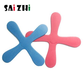 Saizhi 1Pcs EVA Foam Boomerang Lightweight Soft Outdoor Park special Flying Toys Flying Disk Flying Saucer Outdoor Fun Sports