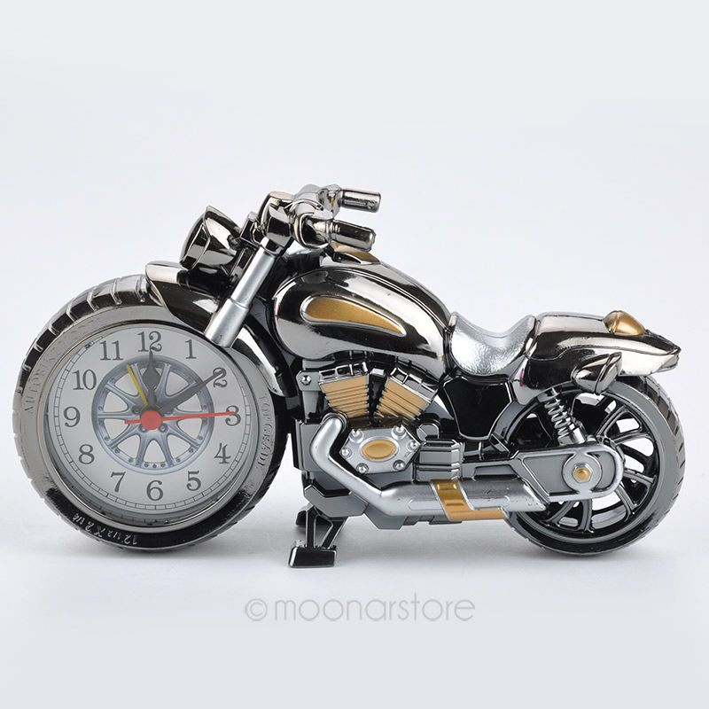 1 Pcs Stylish Alarm Clock Cool Motorcycle Alarm Clock