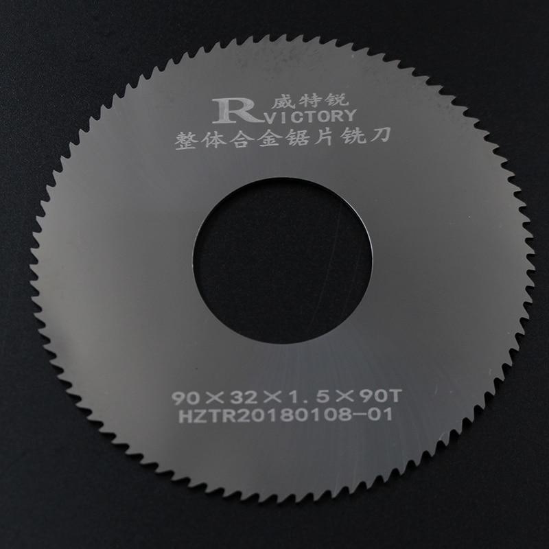 2Pcs Diameter 90mm Saw Blades Tungsten Steel Cutting metal circular saw blades Cutting Tool High Quality metallurgical industry blades series steel plant cutting blades non ferrous metal cutting blades
