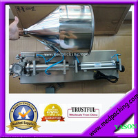 5 100ml Single Head Semi Automatic Paste Tube Filling Machine