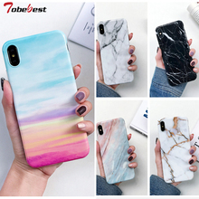 Marble Phone Case sFor Huawei P20 Lite Coque For P30 Pro Capas Soft TPU Silicone IMD Back Cover