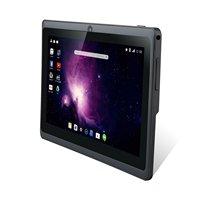 Dragón Touch Y88X Plus 7 pulgadas Tablet pc Quad Core Android 5.1 1 GB/8 GB de Doble Cámara, Netflix, Skype-Negro