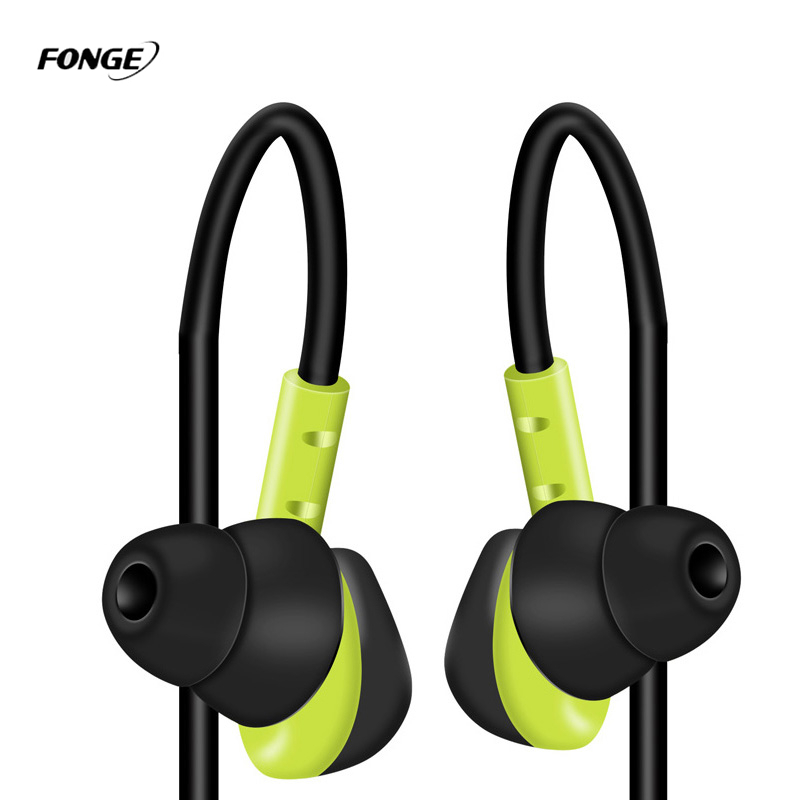 Fonge s500 impermeable sweatproof correr auriculares deporte auriculare teléfono