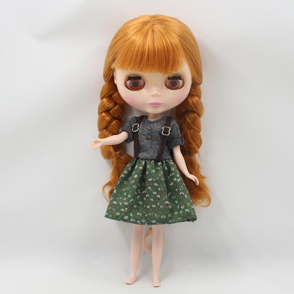 Neo Blythe Doll Floral Suspender Dress 3