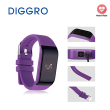 SmartBand diggro R1 сердечного ритма умный Браслет Водонепроницаемый Bluetooth SmartBand Фитнес трекер для Android IOS Телефон SmartBand