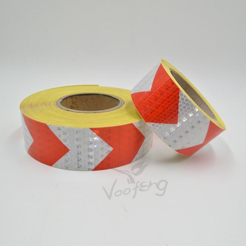 5cmx10m Kleines, glänzendes, quadratisches, reflektierendes - Schutz und Sicherheit - Foto 4