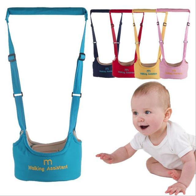 תינוק הליכון פעוט לרתום עוזר תרמיל רצועה לילדים ילדים רצועת למידה הליכה תינוק חגורת ילד בטיחות מושכות