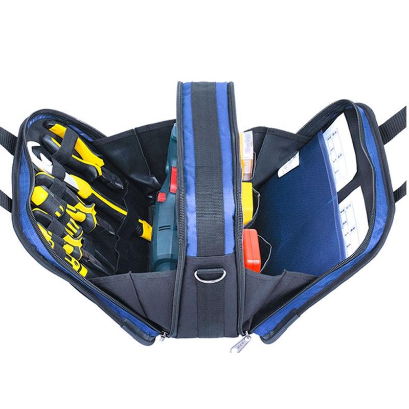 Multifunction Electricity Maintenance Tool Kit Hand Shoulder Gardening Home Hardware Electric Welding Tool Bag