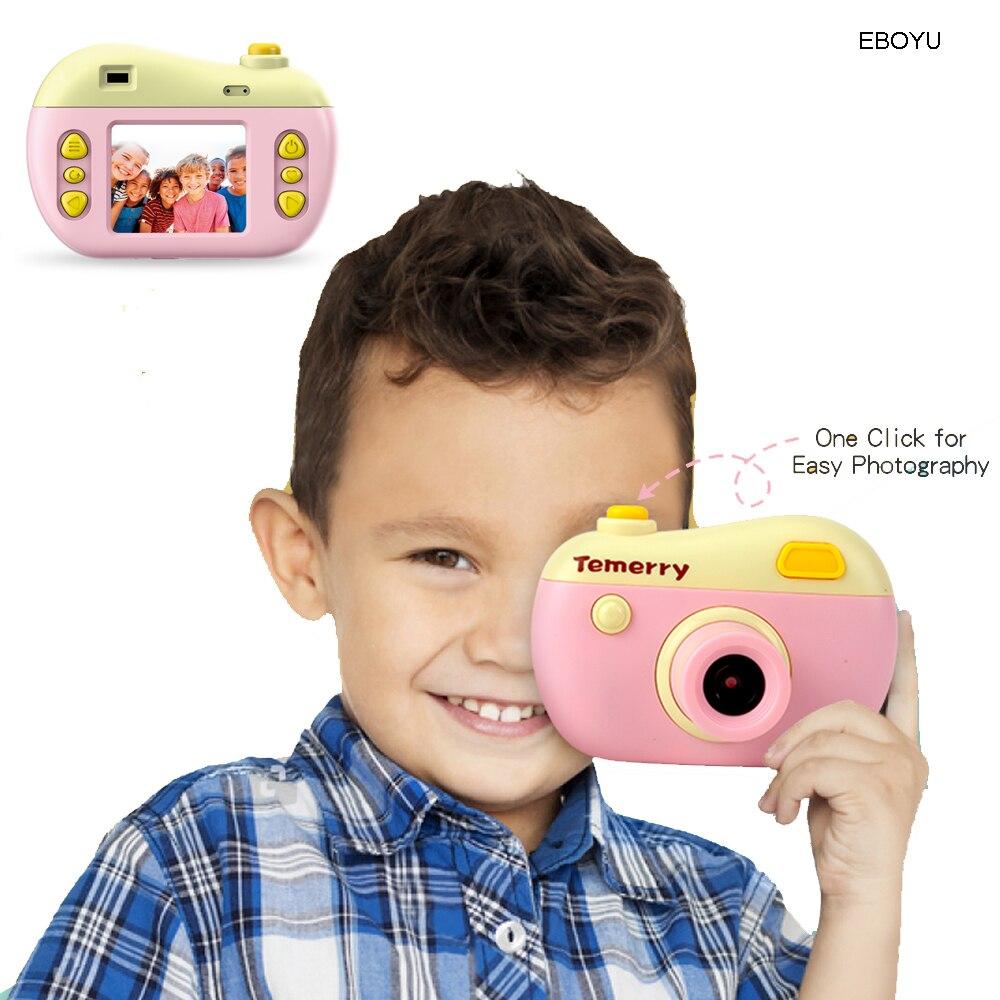 JJRC V01 Kids Digital Camera Gift For Girls Boys 2.0 Inches HD Screen 8.0MP Video Camera For Kids Shockproof Children Selfie Toy