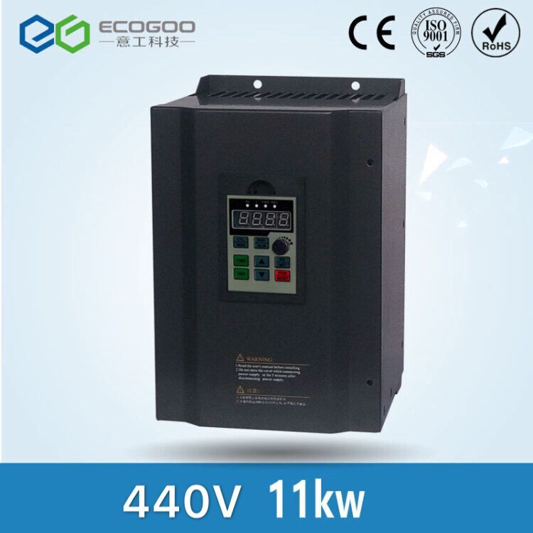 цена на 3 phase 440V input 3 phase 440V output 22A 11KW 15HP Inverter VFD frequency AC drive