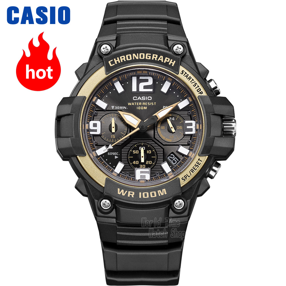 Casio watch Comfortable casual fashion simple neutral student watch MCW-100H-9A2 MCW-100H-1A3 casio mcw 200h 9a