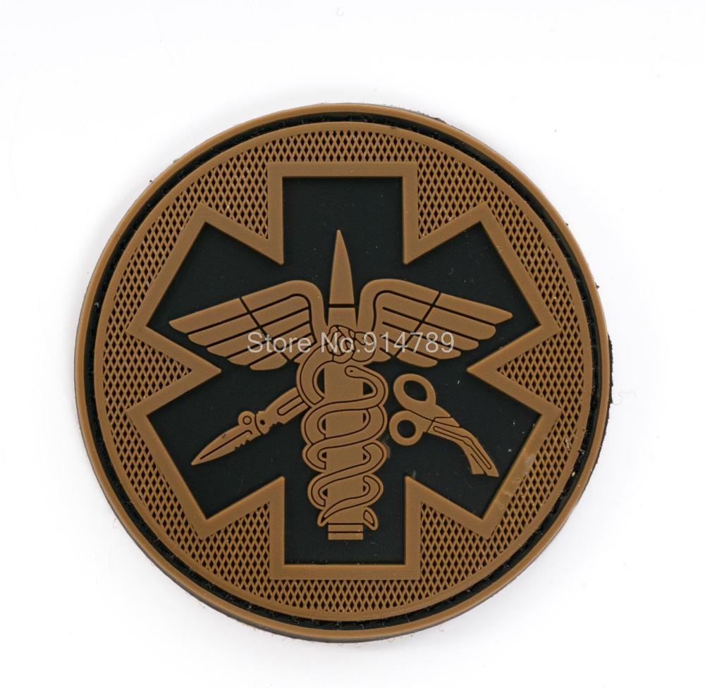 TACTICAL MEDICAL PVC 3D RUBBER  BADGE PATCH-35377