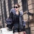 2016 fashion winter jacket women faux fur coat warm fur  slim open stitch full sleeve fashion slim fur