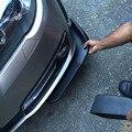 2 шт. левый + правый Универсальный Автомобильный Черный передний дефлектор бампер спойлер крыло кузова spoltter Kit Горячая продажа авто аксессуа...