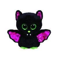 15cm Ty PONIES Beanie Boos Yokai Kunai Big Eyes Plush Stuffed Doll Toys Black Green Purple