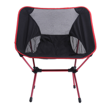 1 2Pcs Ultra Light Folding Fishing Chair Seat for Outdoor Camping Leisure Picnic Beach Chair