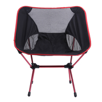 1/2Pcs Ultra Light Folding Fishing Chair Seat for Outdoor Camping Leisure Picnic Beach Chair Other Fishing Tools