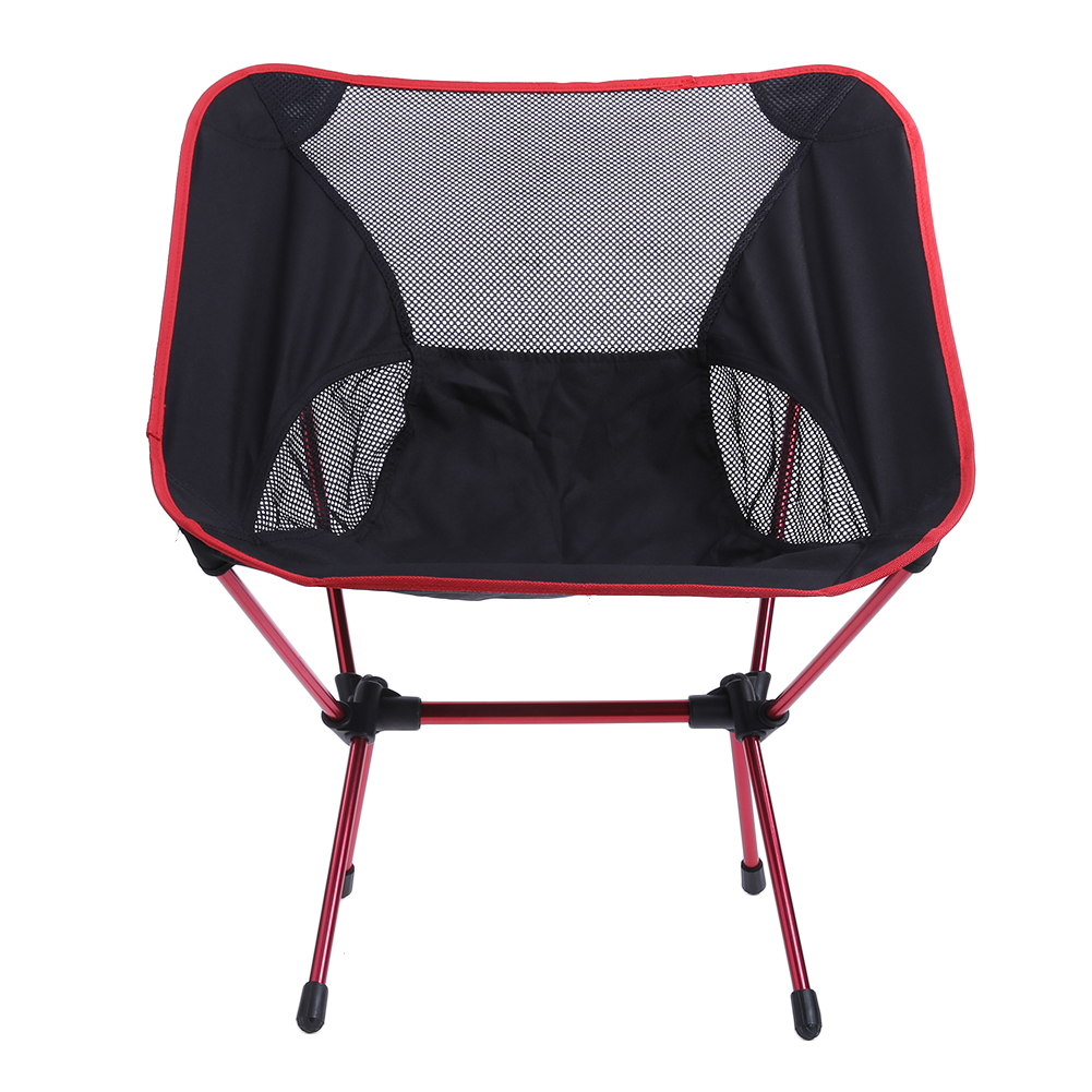 1/2Pcs Ultra Light Folding Fishing Chair Seat for Outdoor Camping Leisure Picnic Beach C ...
