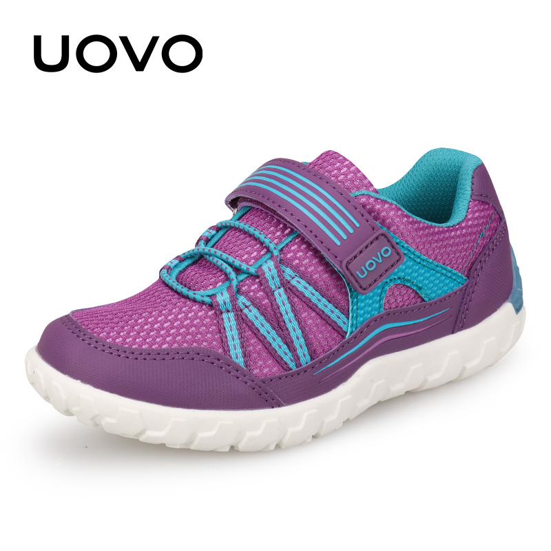 Autumn Kids Shoes Girls Light Weight Kids Summer And Autumn UOVO New Arrival School Sport Shoes For Little Kids Eur #26-35