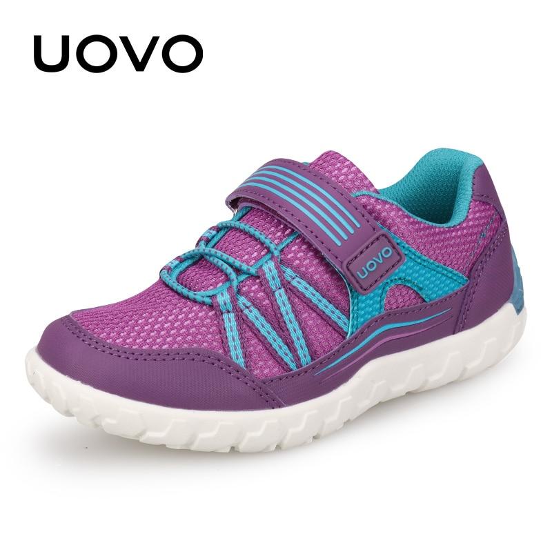 1b8d7f56075 UOVO de primavera y verano de los niños zapatos de malla transpirable  zapatos de los niños zapatos para niños y niñas-luz peso Casual Zapatos de  deporte de ...