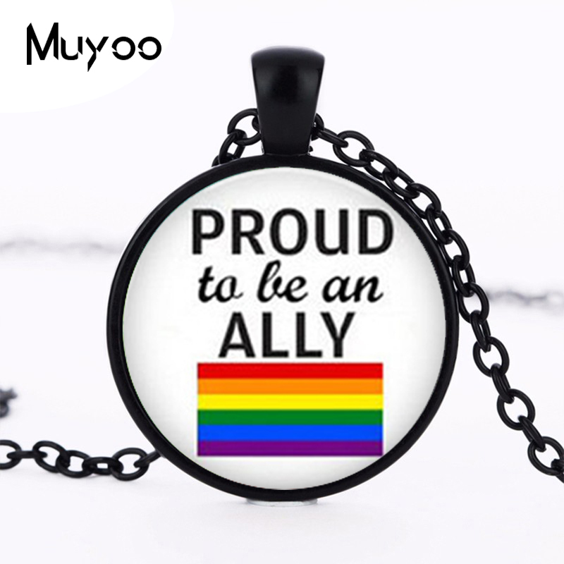 LGBT Necklace, Marriage Equality, <font><b>Bisexual</b></font>, Transgender, Love Gay Rights, Button Pendant, Equality, Gay <font><b>Pride</b></font> <font><b>jewelry</b></font> HZ1 image