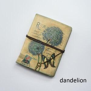 Image 5 - MaoTu Retro Spiral Notebook Vintage Travel Journal Antique Diary Book Ring Binder Gift Notebook Blank Kraft Paper