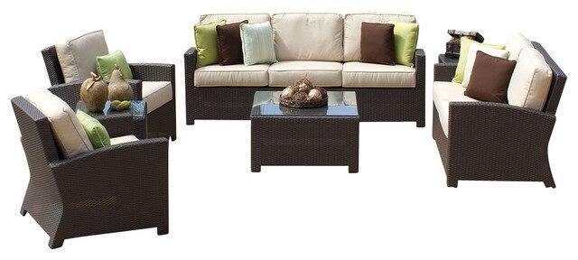 US $912.0 5% OFF|2015 3 Piece Custom Outdoor Rattan Furniture Wicker Patio  Sofa Set-in Garden Sofas from Furniture on AliExpress