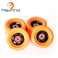 free shipping Skateboard Wheels 1/2/3/4pcs Bearings Smooth Riding 83*52cm Durable PU Wheels Professional Skate Board