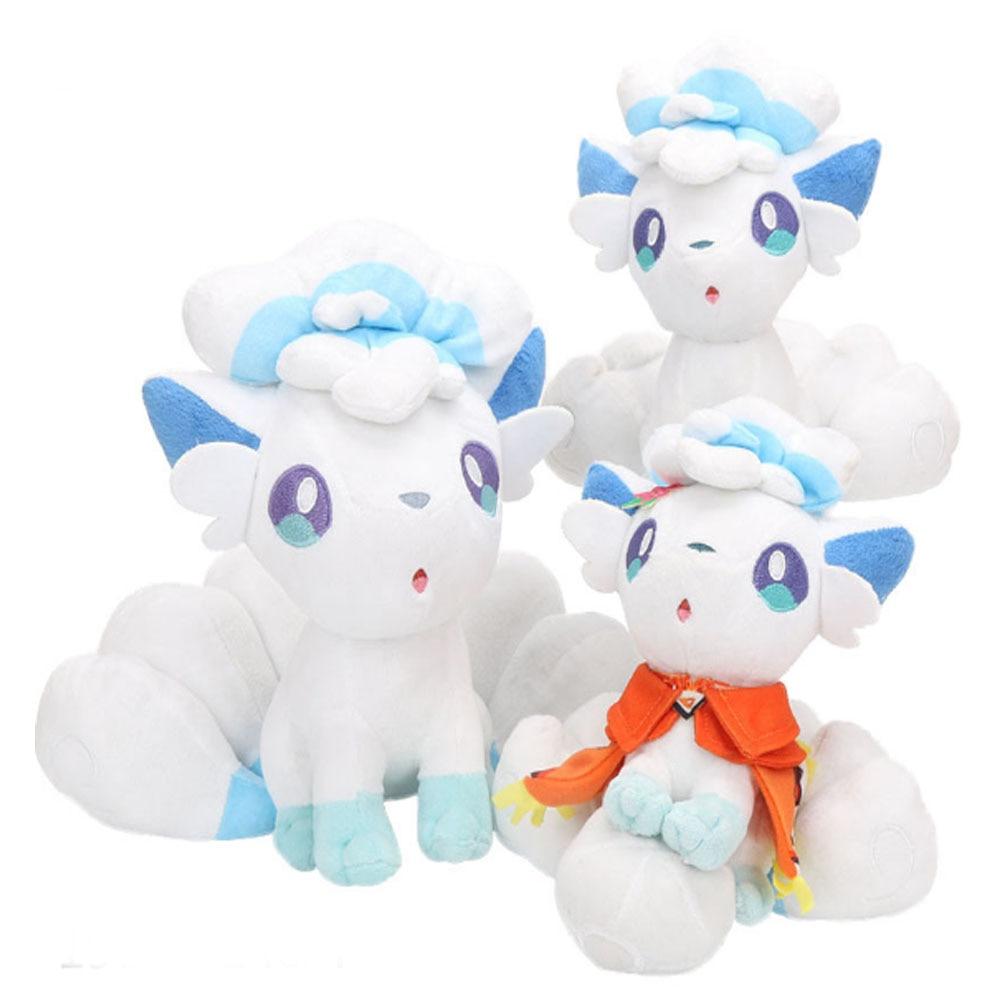 20cm 30cm Cute Doll Alola Vulpix Plush Toy Stuffed Plush Doll Gifts For Children Sun Moon Characters Kid Plush Toys