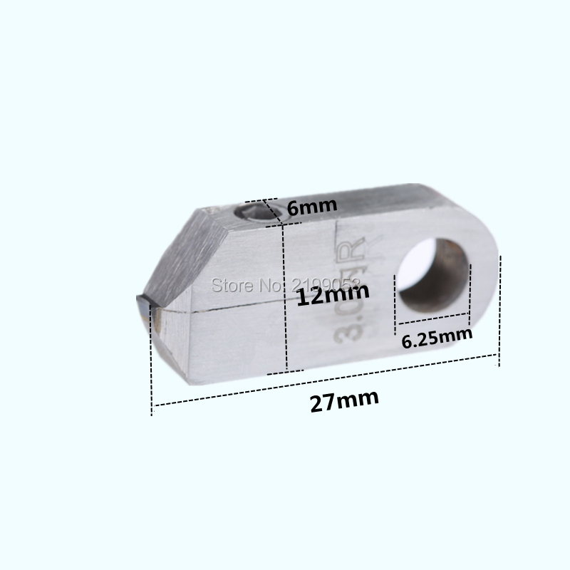 Magas csiszolású konkáv alakú PCD tipp Posalux gyémánt - Elektromos szerszám kiegészítők - Fénykép 4