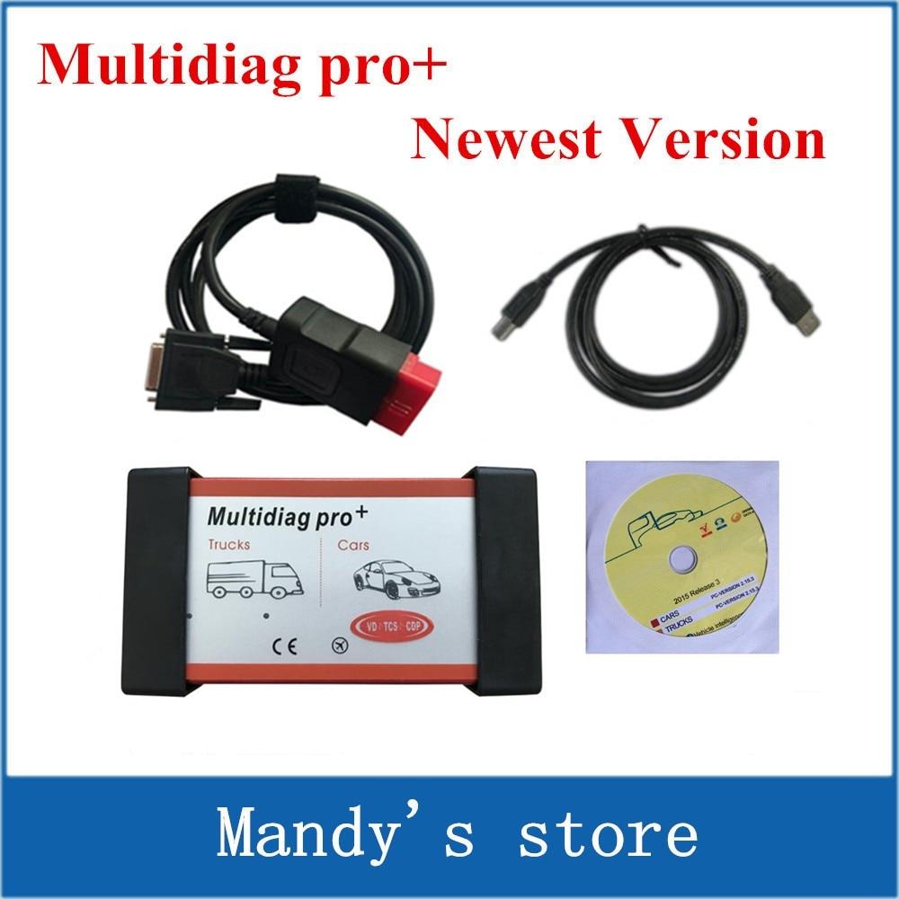 imágenes para Nuevo Diseño Multidiag Pro + Nueva versión 2014. R3/2015. R1 para Más coches/Camiones y OBD2 Escáner TCS cdp pro plus diagnóstico VD herramienta