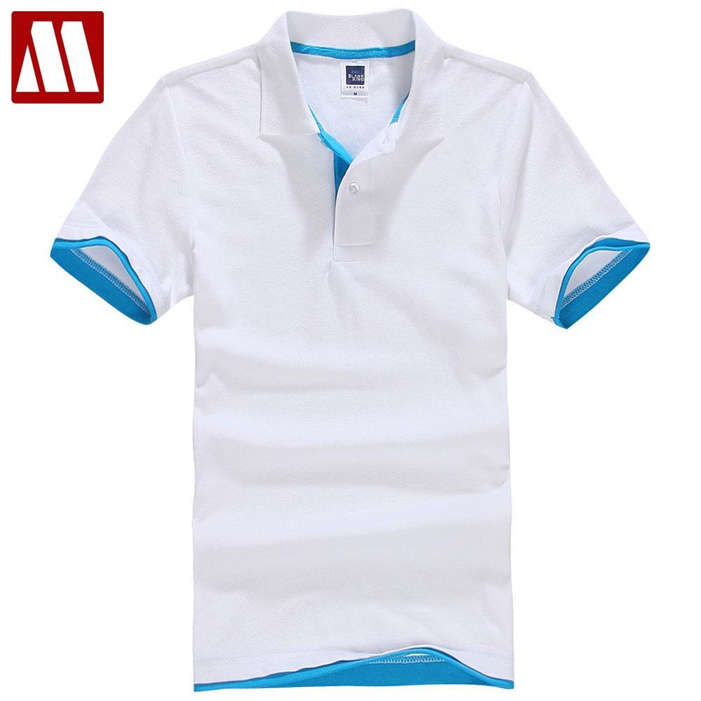 2018 Summer Cotton Short Sleeve Brand Polo Men Shirt Bosco Mens