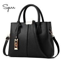SGARR, женская сумка, высокое качество, женская сумка из искусственной кожи, сумка на плечо, известный дизайнер, Большая вместительная сумка, сумки для тела