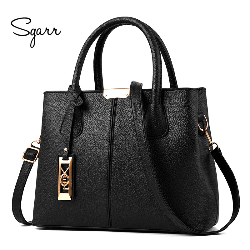 SGARR Women Handbag High Quality Ladies PU Leather Handbags Shoulder Bag Famous Designer Large Capacity Big Tote Cossbody Bags ...