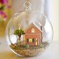 Vidro DIY Kits modelo casa de madeira boneca de presente de aniversário de brinquedo casa de bonecas em miniatura Mini Handmade jardim mágico Pandora