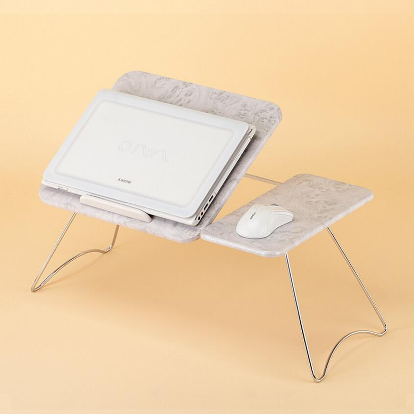 Portable Folding Laptop Table Picnic Folding Table Laptop bed Table Stand Computer Notebook Bed desk Tray SE22 folding computer desk multifunctional light foldable table dormitory bed notebook small desk picnic table laptop bed tray