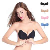 MILLYN Bandage Self Adhesive Invisible Strapless Push Up Bra Top Stick Gel Silicone Bralette Sexy V