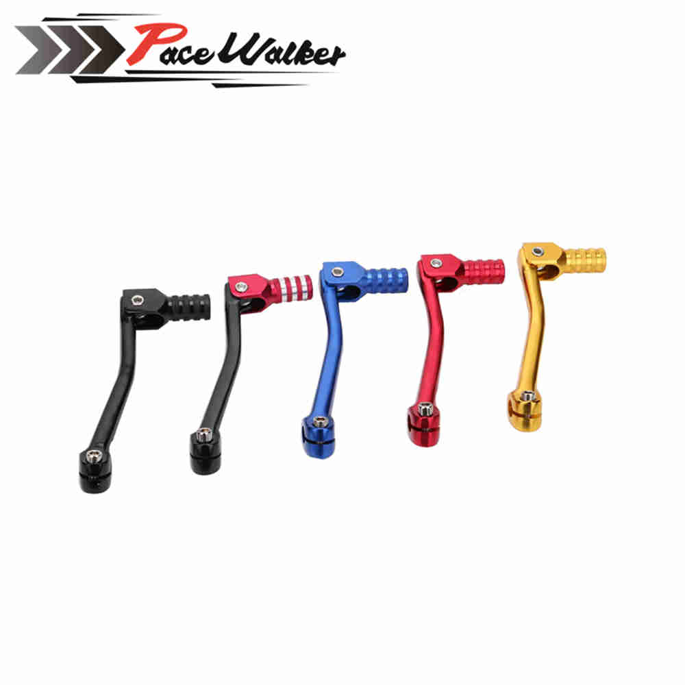 Motorcycle CNC Aluminum Folding Gear Shift Lever Fit Kayo Apollo Bosuer 110/125/140/150/160/250cc Dirt Bike Pit Bikes Gear Lever