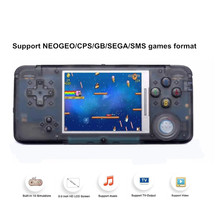 лучшая цена 3.0 Inch Portable Retro Game Console Support For NEOGEO/GBC/CP Handheld Game Player Built-in 818 Classic Games For Kids Gift