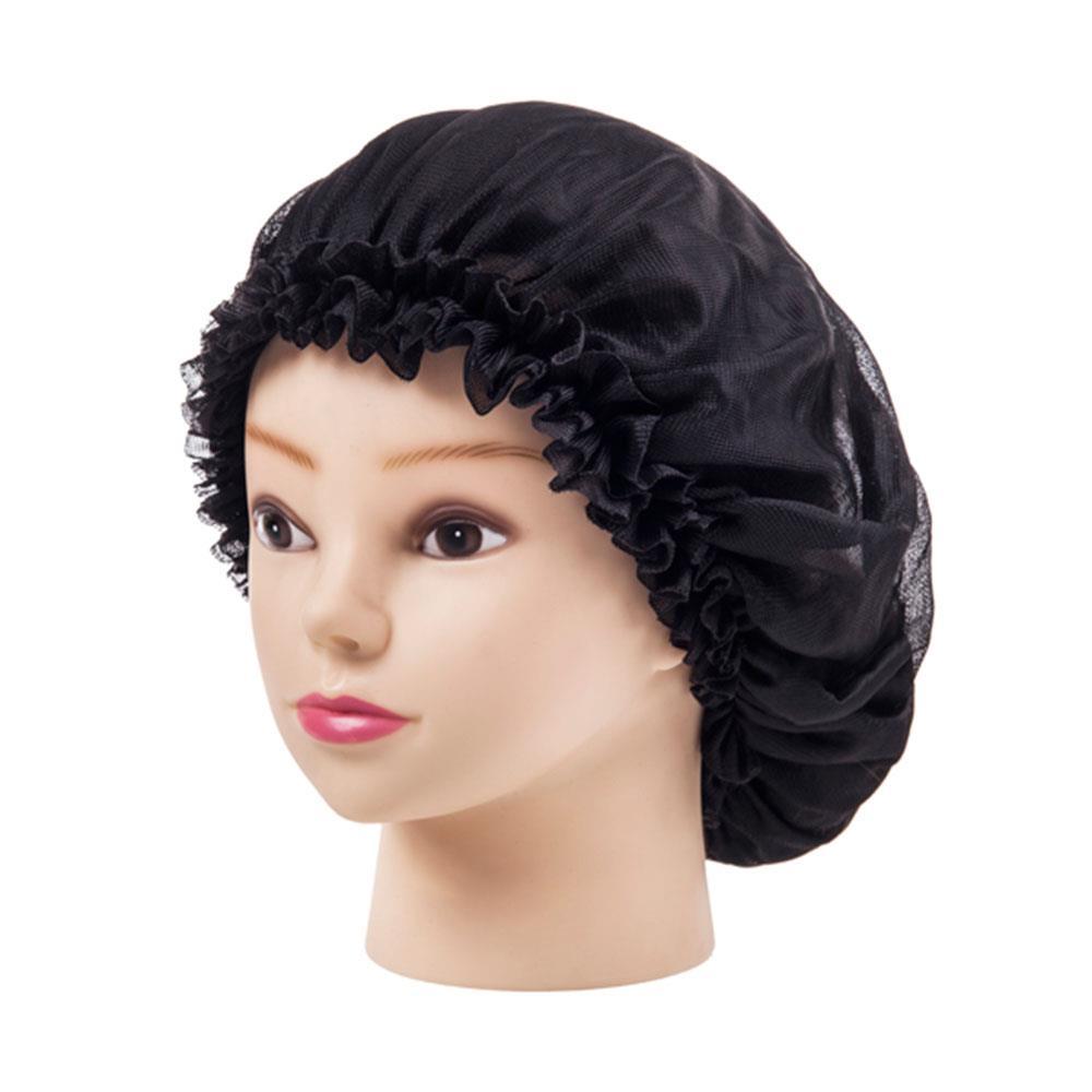 6 Colors Sleeping Hat Night Sleep Cap Hair Care Satin Bonnet Caps Nightcap For Women Men Unisex Cap headpiece