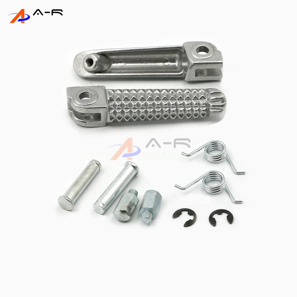 Front Footpeg Footrest Foot Rests Pegs Pedal Pads For Yamaha YZF R1 R1M R6 MT-01 MT-03 FZ-03 MT-07 MT-09 YZF600 YZF1000