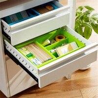 CB14 new Plastic Multi-function Storage Box Double Store Content Box Random 1pc