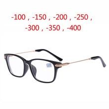 2016 Новый Оптический Близорукость Очки очки, мужчины Женщины студент Компьютерные Очки Кадр Очки Очки Для Чтения-100-150-200-250